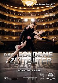 """Filmplakat für """"Bolschoi: Das goldene Zeitalter"""""""