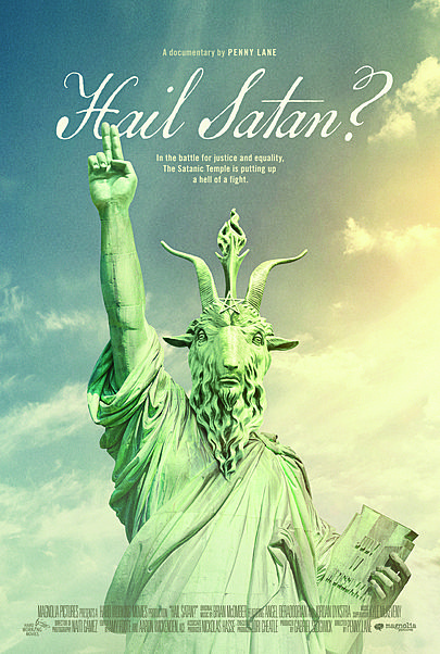 "Movie poster for ""HAIL, SATAN?"""