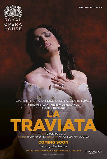 "Movie poster for ""LA TRAVIATA (ROYAL OPERA HOUSE)"""