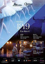 "Movie poster for ""CINDERELLA (OPERA DE PARIS 19/20)"""
