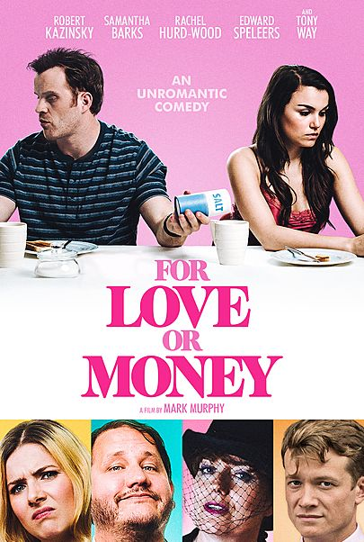 """Movie poster for """"FOR LOVE OR MONEY"""""""