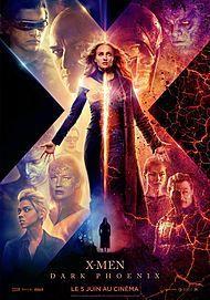 "Movie poster for ""X-MEN : DARK PHOENIX"""