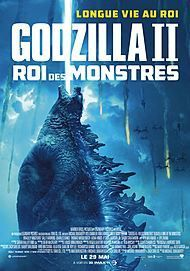 """Movie poster for """"GODZILLA : KING OF THE MONSTERS"""""""