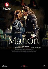 "Movie poster for ""MANON"""