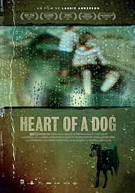 "Movie poster for ""HEART OF A DOG"""