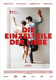 """Movie poster for """"DIE EINZELTEILE DER LIEBE """""""