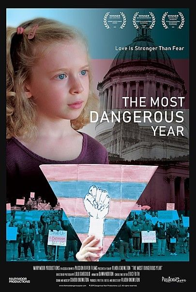 """Movie poster for """"THE MOST DANGEROUS YEAR"""""""