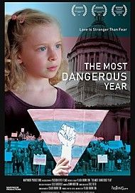 "Movie poster for ""THE MOST DANGEROUS YEAR"""