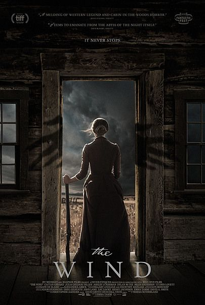 """Movie poster for """"THE WIND"""""""
