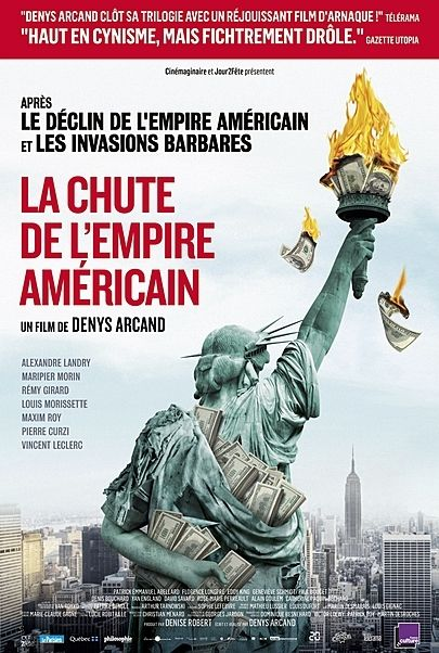 "Movie poster for ""THE FALL OF AMERICAN EMPIRE"""