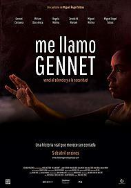 "Movie poster for ""ME LLAMO GENNET"""