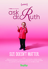 "Movie poster for ""ASK DR. RUTH"""