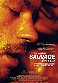 "Movie poster for ""SAUVAGE / WILD"""