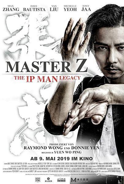 """Filmplakat für """"MASTER Z: THE IP MAN LEGACY"""""""