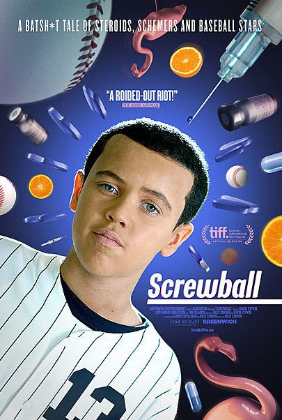 "Movie poster for ""SCREWBALL"""