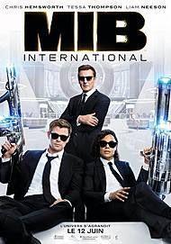 """Movie poster for """"MEN IN BLACK : INTERNATIONAL """""""