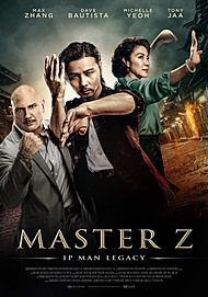 "Movie poster for ""MASTER Z: IP MAN LEGACY"""