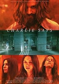 "Movie poster for ""CHARLIE SAYS"""
