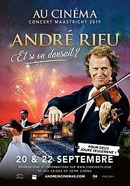 "Movie poster for ""ANDRE RIEU 2019 MAASTRICHT CONCERT:SHALL WE DANCE?"""