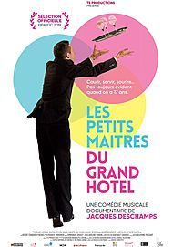 "Movie poster for ""LES PETITS MAITRES DU GRAND HOTEL"""