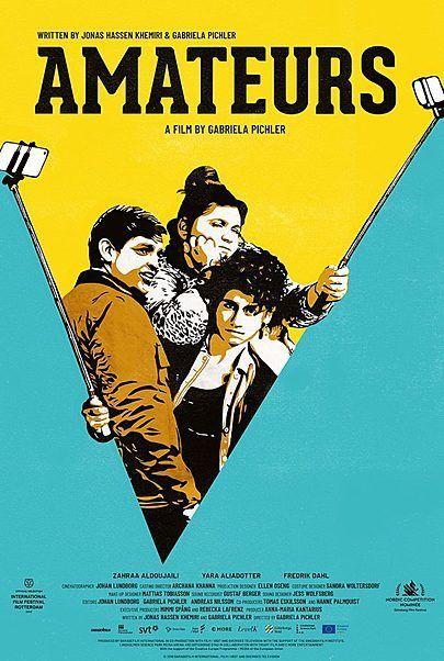 """Filmplakat für """"Amateurs"""""""