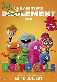 "Movie poster for ""UGLYDOLLS"""