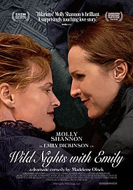 "Movie poster for ""WILD NIGHTS WITH EMILY"""