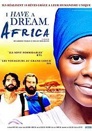 "Movie poster for ""I HAVE A DREAM AFRICA"""
