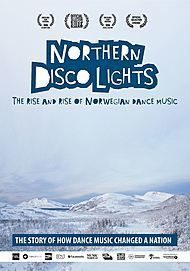 "Movie poster for ""NORTHERN DISCO LIGHTS"""