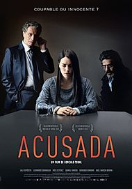 """Movie poster for """"THE ACCUSED"""""""