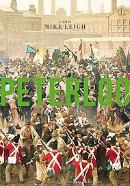 "Movie poster for ""PETERLOO"""