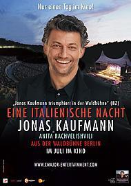 """Filmplakat für """"Eine italienische Nacht - Jonas Kaufmann aus der Waldbühne Berlin"""""""