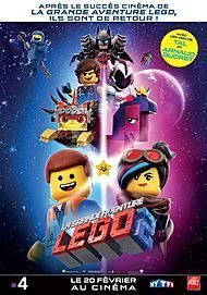 "Movie poster for ""THE LEGO MOVIE 2 : THE SECOND PART"""