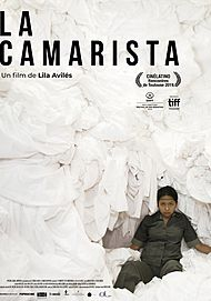 """Movie poster for """"THE CHAMBERMAID"""""""