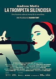 "Movie poster for ""ANDREA MOTIS, THE SILENT TRUMPET"""
