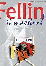 """Movie poster for """"FEDERICO FELLINI """"IL MAESTRO"""""""""""