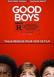 "Movie poster for ""GOOD BOYS"""