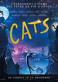 "Movie poster for ""CATS (2019)"""