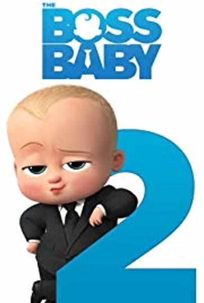 """Movie poster for """"BOSS BABY - ES BLEIBT IN DER FAMILIE"""""""