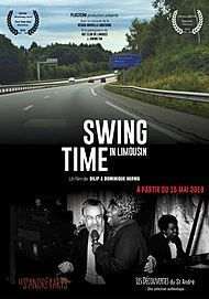 """Movie poster for """"SWING TIME IN LIMOUSIN"""""""