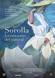 "Movie poster for ""SOROLLA, EMOTION OF THE NATURAL"""