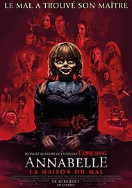 "Movie poster for ""ANNABELLE COMES HOME"""