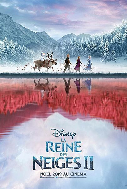 """Movie poster for """"FROZEN 2"""""""
