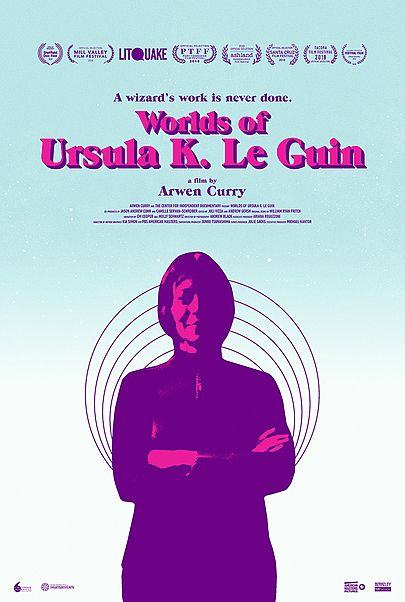 """Movie poster for """"WORLDS OF URSULA K. LE GUIN"""""""