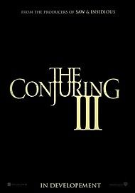 "Movie poster for ""THE CONJURING 3"""