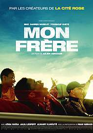 """Movie poster for """"MON FRERE"""""""