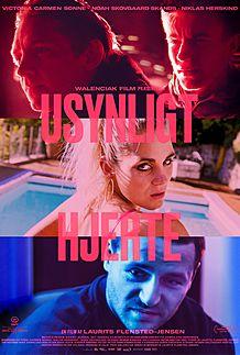"""Movie poster for """"USYNLIGT HJERTE"""""""