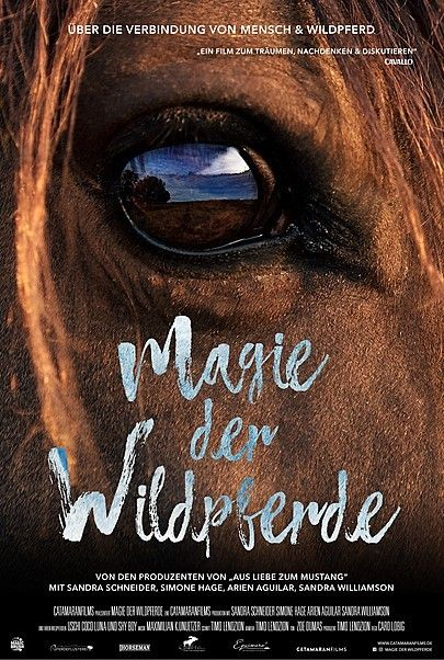 "Movie poster for ""Magie Der Wildpferde"""
