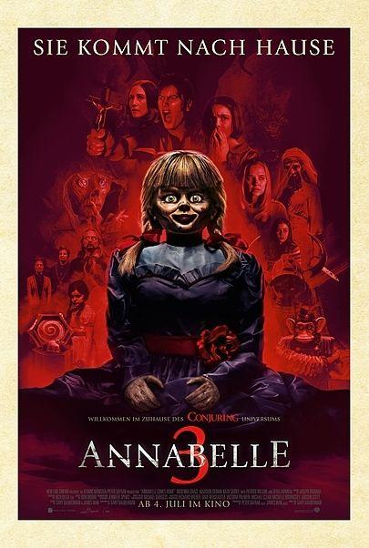 """Filmplakat für """"ANNABELLE 3"""""""
