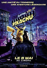 "Movie poster for ""POKEMON DETECTIVE PIKACHU"""